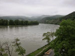 Dunst in der Wachau