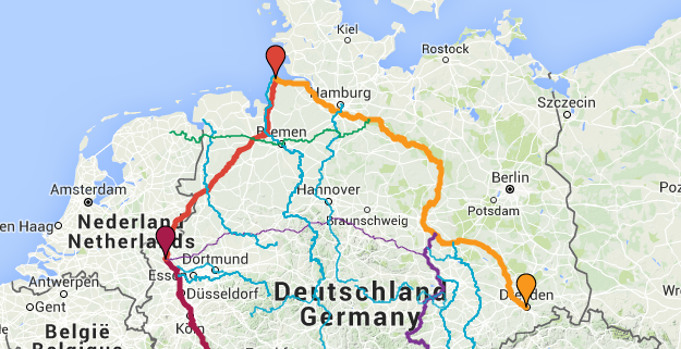 Flüsse in Deutschland