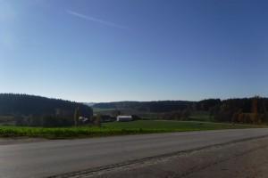 Hügelland in Altbayern