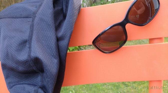 Wind- und wasserfeste Socken oder Sonnenbrille?