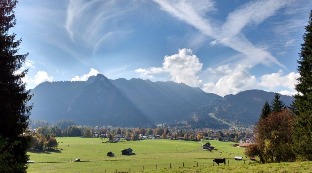 Oberammergau im Oktober