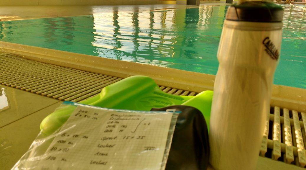 Trainingsplan am Beckenrand