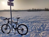 Mountainbike for Schneefeld