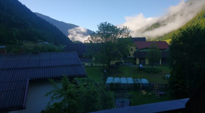 Lebensgefahr und Aus. Alpe-Adria 3