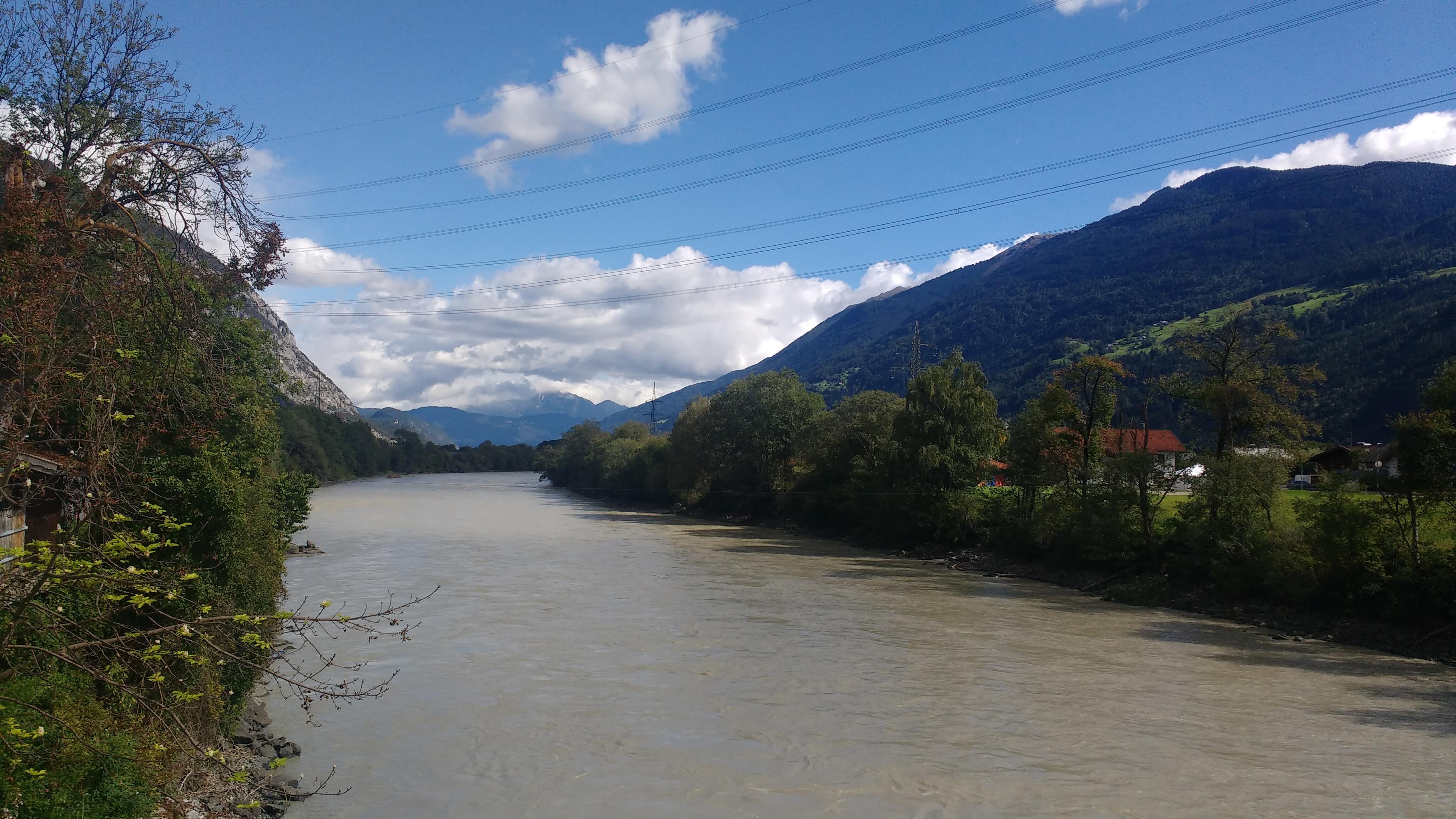 Der Fluss Inn