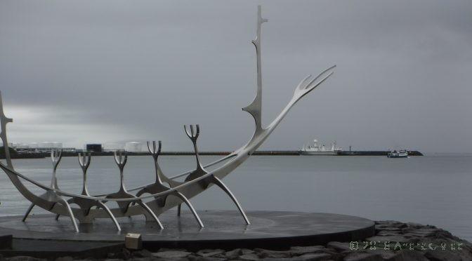 Mit Single Speed durch Reykjavik