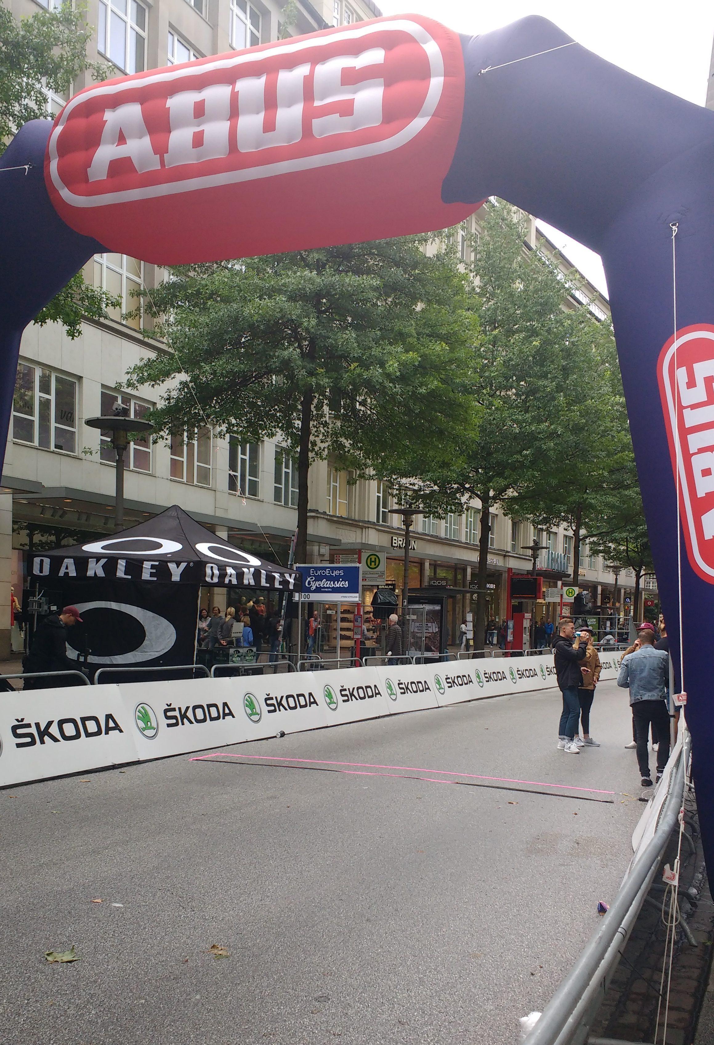 Zielbogen in der Mönckebergstraße