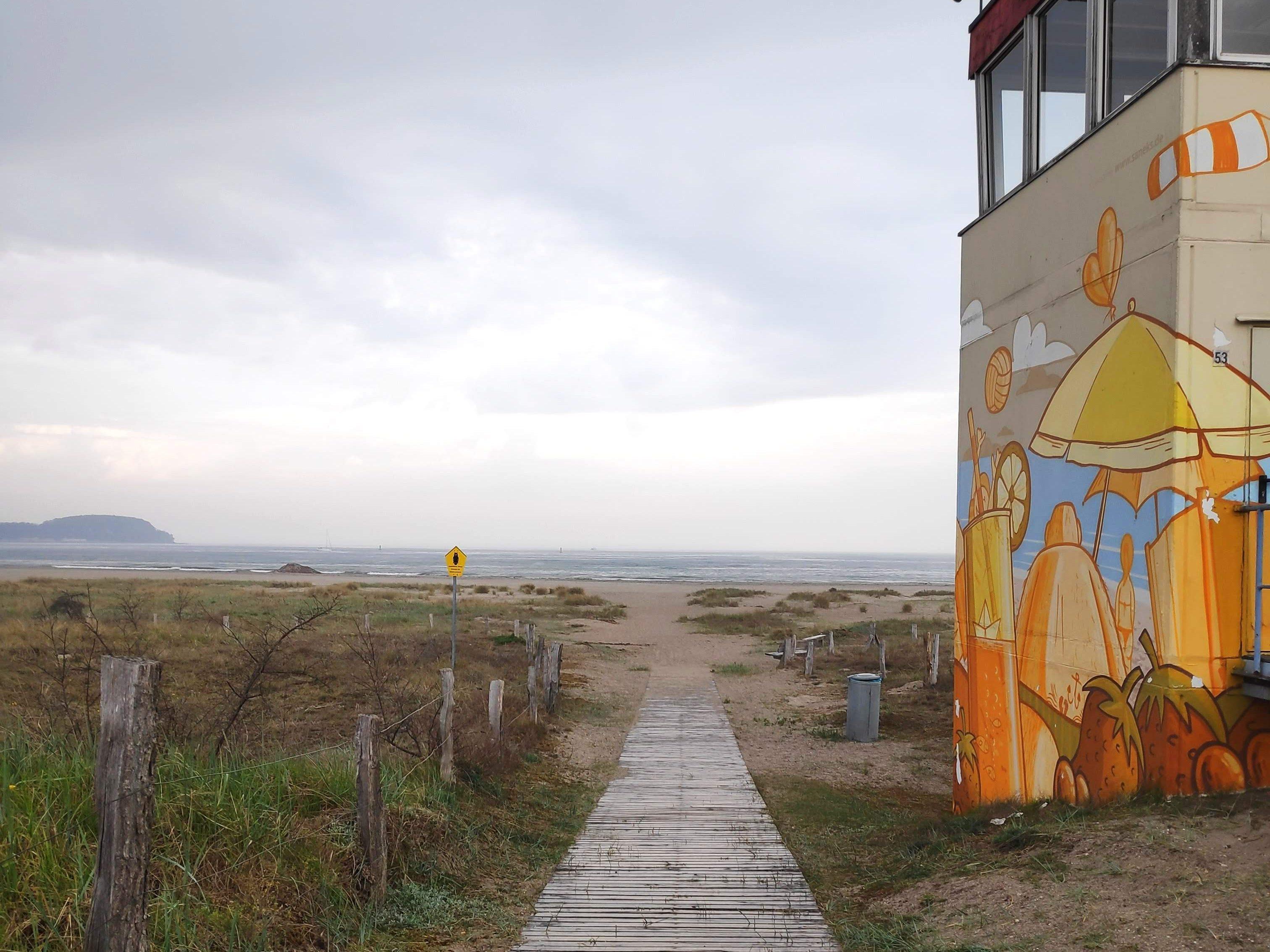 Ostseestrand auf Priwall